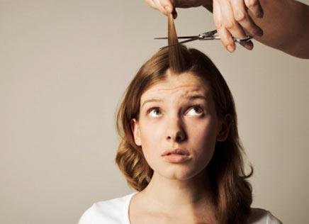 O tratamento de retira-se do cabelo